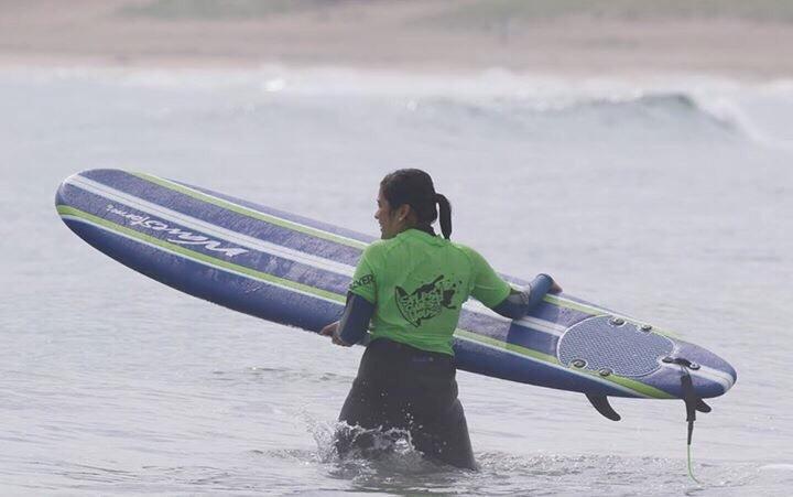Surfing in Japan